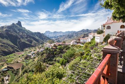 Tejeda - Gran Canaria - Blick ins Tal © Leslie-Fotografics - Fotolia.com